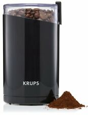 Krups F203 Twin Blade Coffee Mill Spice & Herb Grinder Black