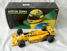 Minichamps 1:18 Ayrton Senna 1987 Lotus Honda 99T FULL TOBACCO LIVERY NIB