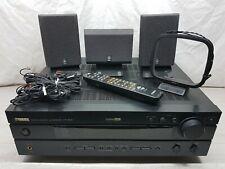 Yamaha HTR-5540 5.1 210w Home Theatre Audio Receiver W Speakers & Remote Bundle