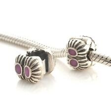 Clip Fastening Charm Bead 925 Sterling Silver