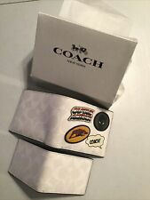Coach Marvel Wallet 3N1 Sign. Canvas w/Patches Captain America 1847 Gift Box