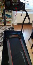 Sportstech F15 Elektrisches Laufband App Steuerung + Pulsgurt + Bodenmatte