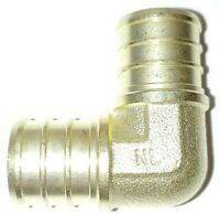"Lot 0f (5) 3/4"" PEX ELBOW - BRASS CRIMP FITTINGS (LEAD-FREE)"