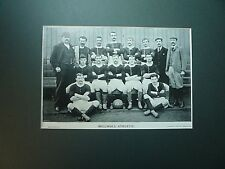 """ MILLWALL ATHLETIC "" 1895. VERY RARE."