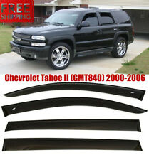 For Chevrolet Tahoe 2000-2006 Window Black Visor Rain Sun Guard Deflectors