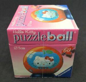 Sydney Fast Post Ravensburger Puzzleball Hello Kitty Blue Apple 3D 60 pcs 7cm