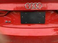 Rear License Plate Bracket for AUDI A3 S3 2014 - 2020 + Screws Brand New