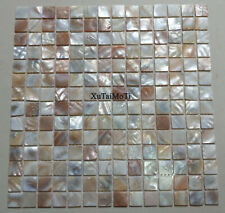 11PCS natural luster shell mosaic tile kitchen backsplash bathroom shower wall