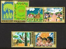 Guinea - 1979 International year of the child Mi. 865-70 MNH