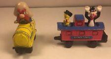 1994 Ertl Sylvester/ Tweety Bird and Yosemite Sam Looney Tunes Train Cars