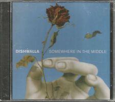 DISHWALLA Somewhere in the Middle w/ RARE RADIO USA PROMO DJ CD Single SEALED