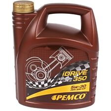 5w-30 olio motore 4l Pemco iDrive 350 5w30 API SN CF BMW ll-04 MB 229.51 VW 504.00