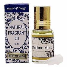 Magic Of India KRISHNA MUSK Fragrant Oil in Roll on Bottle - 2 x 5 ml