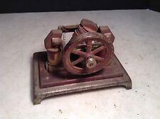 Circa 1900 Antique Weeden Bipolar Electric Steam Engine Toy Dynamo
