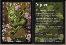 MAGIC THE GATHERING MTG DUELIST MAGAZINE 1998 SQUEE LIFE COUNTER PROMO CARD (x2)