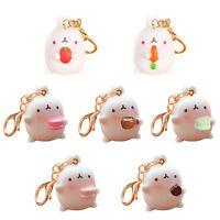 Top  Kawaii Otato Bunny Pendant Cute Rabbit Keyring  Car Key Chain Decor G Y U_X