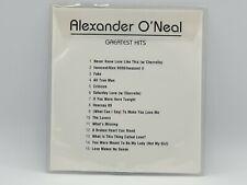 Alexander O'Neal - Greatest Hits  (Collectible rare Promo CD Album)