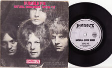 "HUMBLE PIE - NATURAL BORN BUGIE Very rare 1969 Aussie 7"" P/S Single Release!"