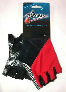Red Road Summer Cycling Gloves - Size XS - By Teosport