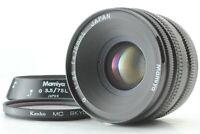 【Exc+++++ w/ Hood】 Mamiya G 75mm F3.5 L MF Lens For New Mamiya 6 From JAPAN 8824