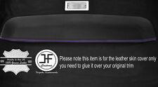Trazador de líneas del techo de la bandeja de almacenamiento de puntada púrpura cubierta de cuero Adapta VW Caddy Van MK2 95-04