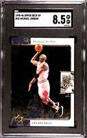 Michael Jordan Upper Deck SP 1995-96 #23 Chicago Bulls- SGC 8.5