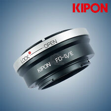 New Kipon adapter for Canon FD mount lens to Sony NEX A7R2 Camera