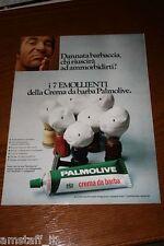 AB14=1972=PALMOLIVE CREMA DA BARBA=PUBBLICITA'=ADVERTISING=WERBUNG=