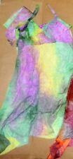 NEW Dance costume Lyrical Ballet tiedye dress ovr leotard 3 COLORs ch/ladies