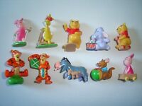 DISNEY WINNIE THE POOH FIGURINES SET 2 ZAINI - FIGURES COLLECTIBLES MINIATURES