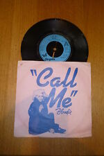 "BLONDIE - Call Me - 1980 UK 7"" vinyl single (Inc sleeve)"