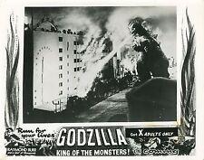 GODZILLA  KING OF THE MONSTERS ! 1956 ISHIRO HONDA VINTAGE PHOTO LOBBY CARD N°2
