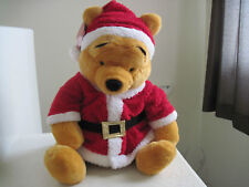 "27"" Giant Disney Winnie the POOH SANTA HELPERS CHRISTMAS HOLIDAY Plush Stuffed"