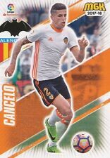 490 JOAO CANCELO PORTUGAL VALENCIA.CF BASE CARD CARTA MGK 2018 PANINI