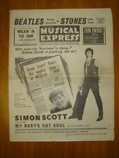 NME #933 1964 NOV 27 SIMON SCOTT BEATLES STONES ELVIS