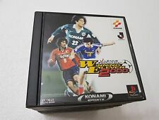 PSX SONY PLAYSTATION JAP NTSC J.LEAGUE WINNING ELEVEN 2000 - KONAMI - NO SPINE