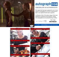 "ANNA SILK signed Autographed ""LOST GIRL"" 8X10 PHOTO C - PROOF - SEXY Bo ACOA COA"