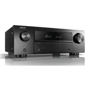 Denon AVR-X550BT 5.2ch 4K Dolby TrueHD DTS-HD Bluetooth AV Receiver Amplifier