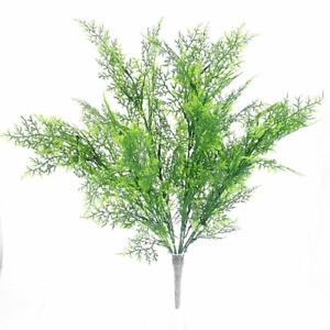 Artifical Plastic Cypress Greenery Bush