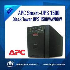 APC Smart-UPS 1500 Black Tower 1500VA/980W New Batteries SUA1500I 6-Mth Warranty