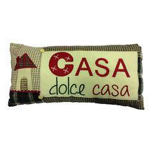 Cojín muebles vintage CASA DULCE algodón COUNTRY ESTILO acerca de 46X20,5 cm