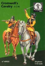 WATERLOO 1815 1/72 cromwell's Caballería Inglesa GUERRA CIVIL #ap033