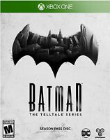 NEW Batman: The Telltale Series -- Season Pass Disc (Microsoft Xbox One, 2016)