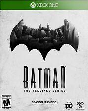 NEW Batman: The Telltale Series Season Pass Disc (Microsoft Xbox One, 2016)