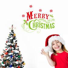 Wandtattoo Wandsticker Schaufenster Kinderzimmer Weihnachten Christmas Geschenk