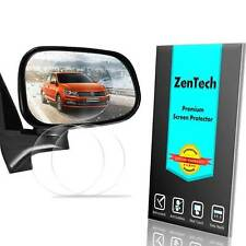 2X ZenTech Clear Anti-Rain Anti-Frog Screen Protector For Car Side-View Mirror