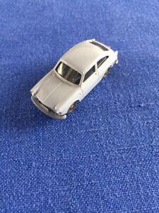 WIKING 1/87 Volkswagen 1600 con gancio di traino vintage raro da collezione