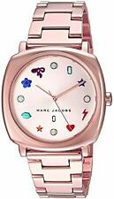 Marc Jacobs Women's MJ3550 'Mandy' Crystal Rose-Tone Stainless Steel Watch