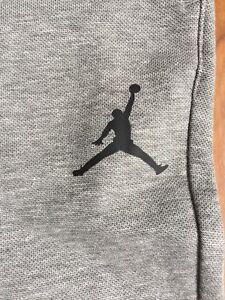 New Jordan Boy Youth Pant Heather Grey 953384-042 Size M, L, XL