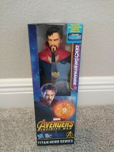 "Marvel Avengers Infinity War Titan Hero Series~~Dr Strange 12"" Action Figure~NIB"